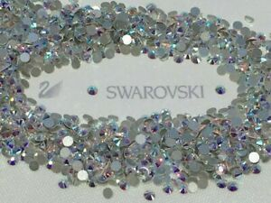 Genuine Swarovski® 3mm Flat Back dazzle hot fix Crystals & Rhinestones(120 Pcs)