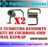 2 tendeurs ressorts spring belt courroie GT2 T2.5 imprimante printer 3D RepRap