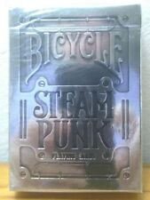 Bicycle Silver Steampunk Playing Cards 2 Decks NEW Sealed Packs (JDVD13)