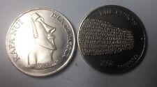 2008 Easter Island copper nickel 1000 pesos -Giant Head