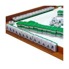 Mini 144 Mahjong Tile Set Travel Board Game Chinese Traditional Mahjong Games...