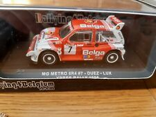 RARE 1/43 IXO MG METRO 6R4 BELGA DUEZ RAC RALLY 1986