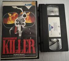 VHS - PROFESSIONE KILLER di Gilberto De Anda [IMAGE VIDEO]