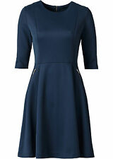 SCUBAKLEID NEU Gr 40 BLAU SCUBA BUSINESS KLEID PARTYKLEID AUSGEHKLEID CITY EVENT