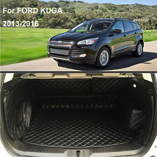 Auto Cargo Trunk Boot Liner Mat For FORD KUGA 2012-2016 Years Waterproof Carpet