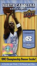 2010/11 UD UNC EXCLUSIVE Box+Champship Banner! Look for Michael Jordan AUTOGRAPH