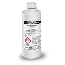 tickopur R 27 intensiv-reiniger Para Ultrasonido 1 LITROS CONCENTRADO