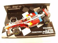 F1 1/43 Williams Fw21 Schumacher 1st Edition 1999 Minichamps