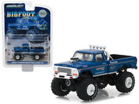 1/64 Greenlight 1974 Ford F-250 The Original Monster Truck Bigfoot #1 Blue 29934