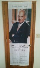 Rare Vintage Oscar de la Renta For Century Furniture Display Long Banner