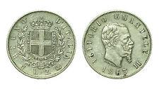 pcc1639_1) Regno Vittorio Emanuele II - 2 lira stemma 1863 Napoli