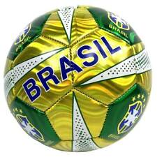 All New Style Soccer Brazil Brasil All Weather Soccer Ball Official Size 5