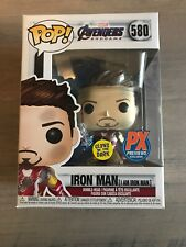Funko Pop! Marvel Endgame I AM IRON MAN (GLOW)! New In Hand! PX Exclusive! #580