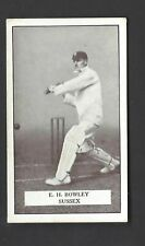 GALLAHER - FAMOUS CRICKETERS - #29 E H BOWLEY, SUSSEX