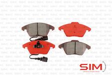 Disc Brake Pad Set-SIM Semi-Metallic Brake Pads Front SIM-1107