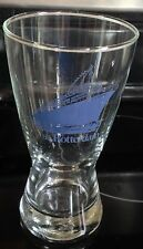 RARE VINTAGE SS ROTTERRDAM OCEAN LINER BEER GLASS CRUISE SHIP LIBBEY