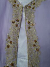 Lilac Salwaar With Embroidered Jacket