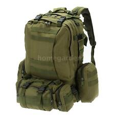 Outdoor Camping Military Tactical Backpack with MOLLE Webbings Rucksack Bag R4X1