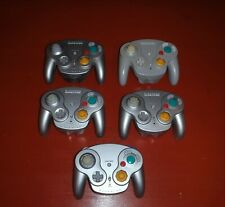 5 Official Wireless Wavebird Controllers (Nintendo Gamecube)-No Dongles/Untested