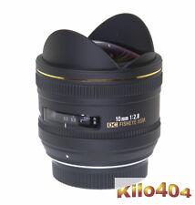Sigma für Pentax 10mm 1:2,8 EX DC HSM * Fisheye * 180° * KP * K-5 * K-3 * K-7 *