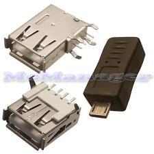 USB A,USB B,USB Mini, USB Micro  Male/Female Connectors/ Housing/Adapters