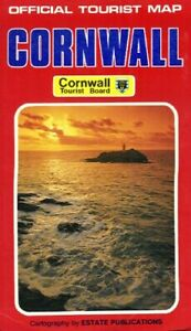 Cornwall (Official Tourist Map S.) Sheet map, folded Book The Cheap Fast Free