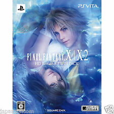 Used PS Vita Final Fantasy X/X-2 HD Remaster SONY PLAYSTATION JAPANESE IMPORT