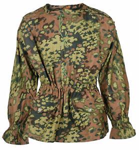 WW2 WWII German Elite M42 Oak Leaf Reversible Camouflage Smock Size XXL