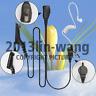 1-wire Surveillance Earpiece For Motorola APX6000 XPR7550 DP3400 DP3600 Portable