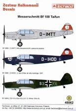 TECHMOD 1/48 Messerschmitt Bf 108 Taifun part 1 # 48062