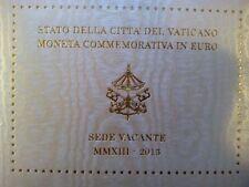 """2 Euro Vatican 2013 Gedenkmünze """"Sedisvakanz (Papstlose Zeit)"""" Stgl."""