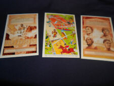 2 x 'HISTORY OF THE OLYMPICS' AND 1 'OLYMPIC FUN' POSTCARDS c1981 - COCA-COLA