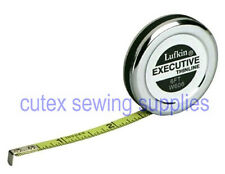 Lufkin W606 1/4 inch X 6 foot Executive Thinline Steel Pocket Tape Measure Rule