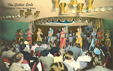 "Reno Nv Golden Bank Casino Gold Room ""Golden Girls"" Linen P/C"