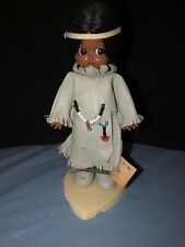Vintage Indian Doll and baby Deerfoot and Brown Eagle