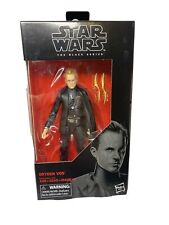 Hasbro Star Wars The Black Series 6-inch Dryden Vos Action Figure