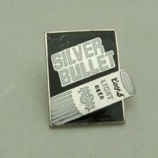 Silver Bullet Coors Light Beer Lapel, Hat Pin