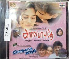 Alai Payuthey / Unakkaaga Mattum (Tamil CD) (A.R.Rahman) (Brand New Original CD)