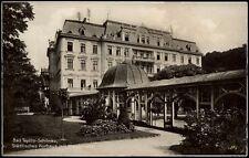 BAD TEPLITZ-SCHÖNAU Teplice - Kurhaus mit Wandelhalle - sw-AK 1941