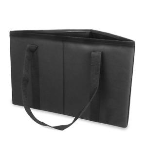 Hanger Hamper Black Wardrobe Storage Organiser Clothes Hangers Bag M&W