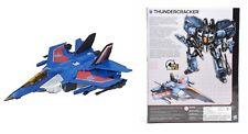 THUNDERCRACKER Transformers Hasbro Generations Combiner Wars IDW Leader  Class L
