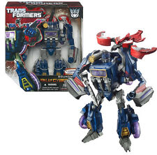 Transformers fall of cybertron soundwave & laserbeak figures toy nice, rare!
