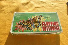 Vintage Box 12 Wind-Up Japan Butterflies Original Store Display Box 1960's