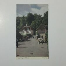 Cockington Village Torquay Postcard Unposted Printed and Published by Bendles