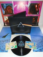 PINK FLOYD-DARK SIDE OF THE MOON COMPLETE ..SUPERB! UK PRESS N/M VINYL LP 1973
