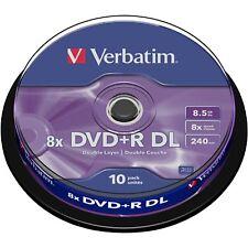 Verbatim DVD+R DL 8,5 GB, DVD-Rohlinge