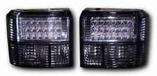 VW T4 CRYSTAL BLACK LED REAR BACK TAIL LIGHTS
