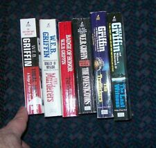 lot of 6 Badge of Honor paperbacks by W.E.B. Griffin  (list in description)
