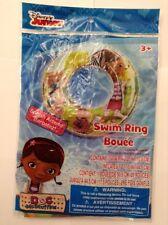 Disney Junior Doc McStuffins Inflatable Swim Ring Age3+ New!