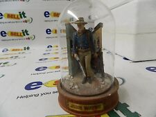 "Rare John Wayne Miniature Figurine Hand Painted ""Spirit Of The West"""